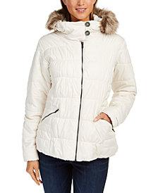 Columbia Women's Sparks Lake™ Hooded Faux-Fur-Trim Coat