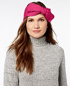 Solid Bow Knit Headband