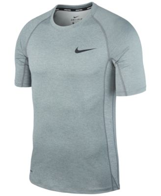 NEW WITH TAGS NIKE PRO DRI-FIT TRAINING SHIRT WHITE//GRAY SIZE MEN/'S XL