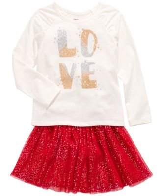Toddler Girls Sparkle Skirt, Created For Macy's