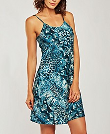 Ultra Soft Print Chemise Nightgown, Online Only