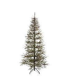 7' Slim Warsaw Twig Artificial Christmas Tree - Unlit