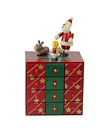 Elegant Advent Storage Calendar Box