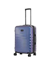 "Triforce Lumina 26"" Spinner Iridescent Geometric Design Luggage"