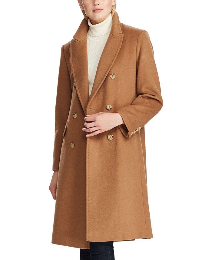 Lauren Ralph Lauren - Notch Collar Double-Breasted Coat