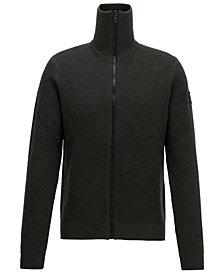 BOSS Men's Kamurly Zip-Through Knitted Jacket