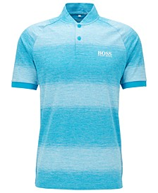 BOSS Men's Plade Pro Slim-Fit Golf Polo Shirt