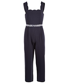Big Girls Embellished Jumpsuit