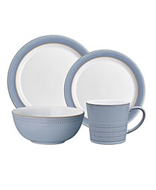 Natural Denim 4-Piece Place Setting