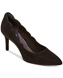 Women's Total Motion Scallop Pumps