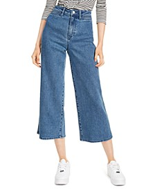 Ultra-Wide-Leg High-Rise Jeans