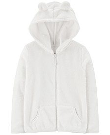 Little & Big Girls Fleece Zip-Up Hoodie