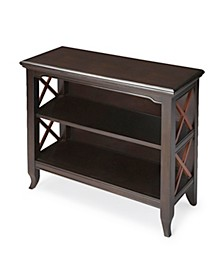 Newport Cherry Low Bookcase