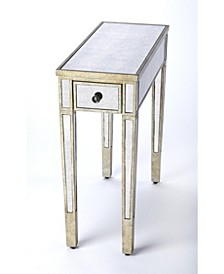 Katarina Mirrored Chairside Table