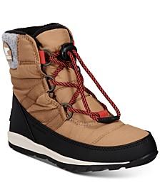 Youth Unisex Whitney Short Lace Boots