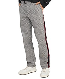Men's Comfort-Fit Brandon Check Trousers