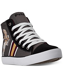 Big Boys Kicker Bear Solomon High Top Casual Sneakers from Finish Line