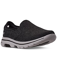 Men's Wash-A-Wool GoWalk 5 Flint Slip-On Walking Sneakers from Finish Line