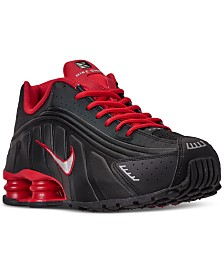 Nike Men's Shox R4 Running Sneakers from Finish Line