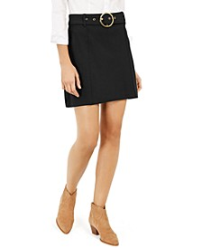 INC Belted Mini Skirt, Created For Macy's