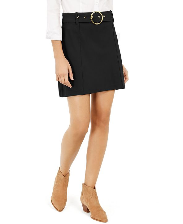 INC International Concepts INC Belted Mini Skirt, Created for Macy's