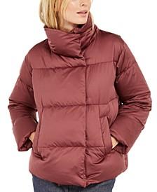 High-Neck Puffer Coat