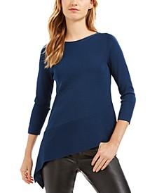 Asymmetrical-Hem Sweater
