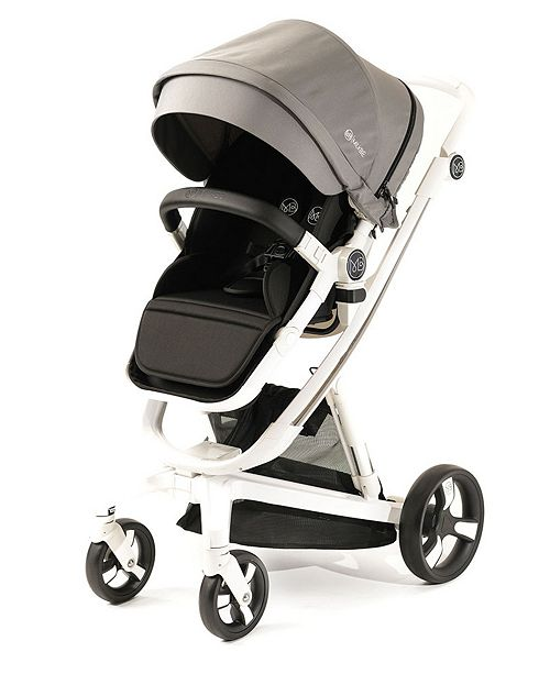 Posh Baby and Kids Out Peak Milkbe Self Stopping Luxury Stroller