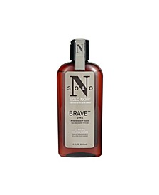 Solo Noir Brave Aftershave and Toner, 4 Oz