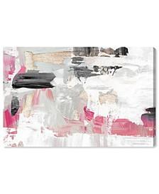 Neon Rose Dream Canvas Art Collection
