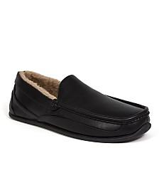 DEER STAGS Slipperooz Men's Spun Indoor Outdoor S.U.P.R.O. Sock Cozy Moccasin Slipper