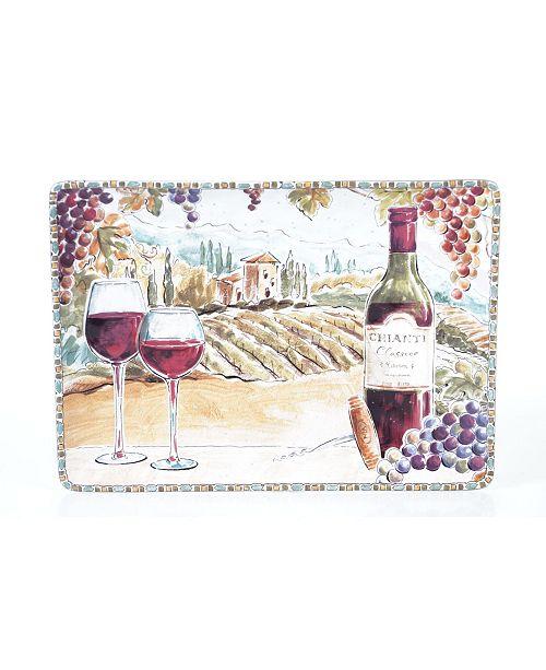 Certified International Tuscan Breeze Rectangular Platter