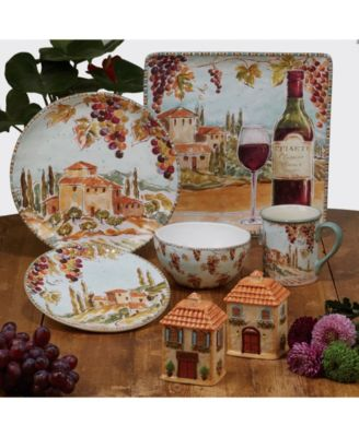Tuscan Breeze 4-Pc. Dinner Plates