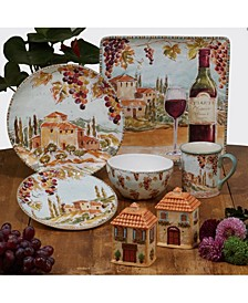Tuscan Breeze Dinnerware Collection