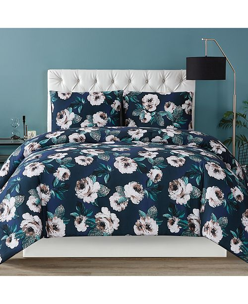 Christian Siriano New York Christian Siriano Mags Floral King Duvet Set