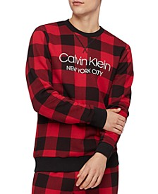 Men's Buffalo Plaid Sweatshirt