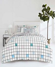 Paintbox King Duvet Cover Set