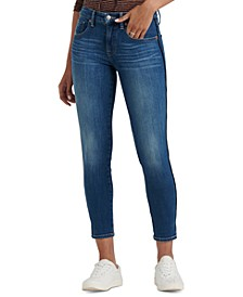 Ava Piping-Trim Skinny Jeans
