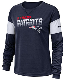 Nike Women's New England Patriots Breathe Long Sleeve Top