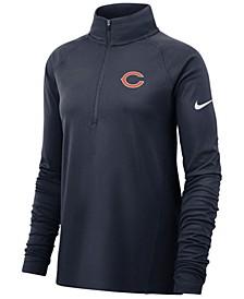 Women's Chicago Bears Pro Half-Zip Element Pullover