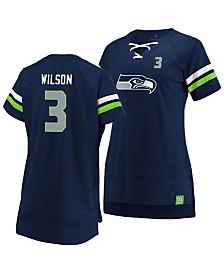 Majestic Women's Russell Wilson Seattle Seahawks Draft Him T-Shirt 2019
