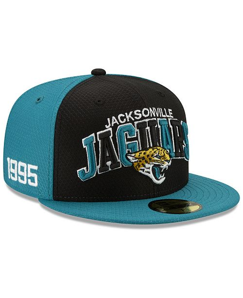 New Era Boys' Jacksonville Jaguars On-Field Sideline Home 59FIFTY-FITTED Cap