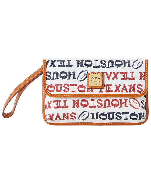 Dooney & Bourke Houston Texans Doodle Milly Wristlet