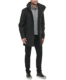 Men's Soft Shell Utility Jacket with Convertible Hood