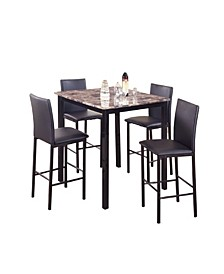5 Piece Counter Height Dinette