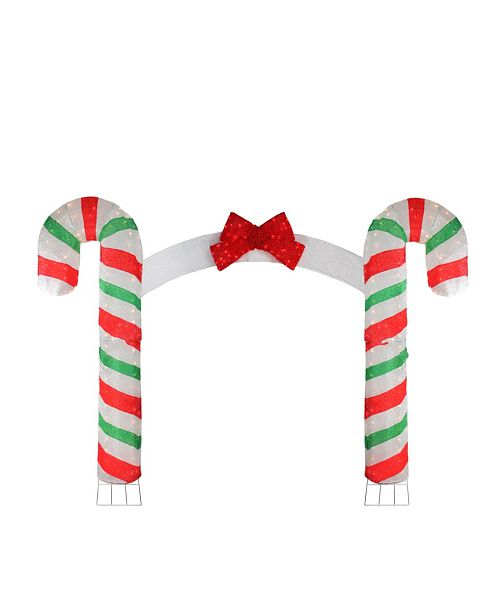 Northlight Pre-Lit Candy Cane Lane Christmas Archway - 10' x 7'