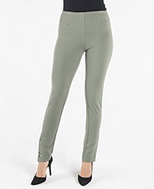 Pull On Legging with Front Snap Details