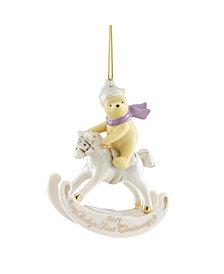 Lenox 2019 Winnie the Pooh Baby's 1st Christmas Ornament