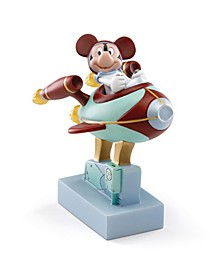 Mickey Goes To The Moon Lit Figurine