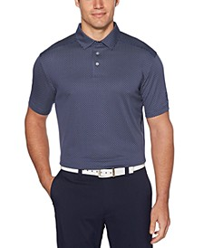Men's Jacquard Dobby Golf Polo